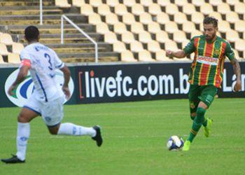 Confian�a conquista empate a capital maranhense pelo Campeonato Brasileiro da S�rie C