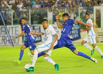 Confiança vacila e sofre dois gols em 18 minutos na primeira partida das Quartas-de-Final
