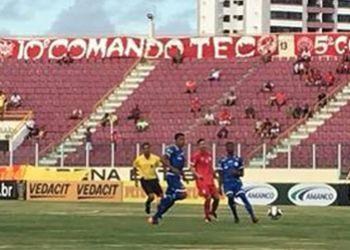 Jogador sai do banco de reservas para marcar o gol da vit�ria do Confian�a