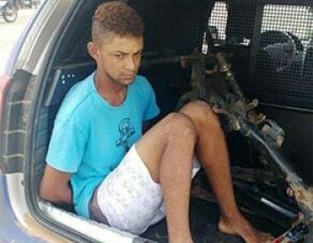 Motocicleta roubada na cidade de Macambira é encontrada em residência na periferia de Itabaiana