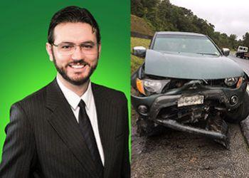Candidato a Deputado Federal por Sergipe se envolve em acidente automobilístico no Estado de SP
