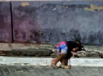 Dupla em atitude suspeita entra em confronto com policiais na cidade de Laranjeiras