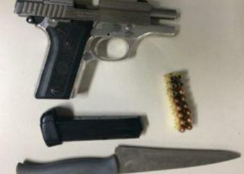 Motorista � detido por Policiais em �rea de Caatinga por porte ilegal de arma de fogo em Itabaiana