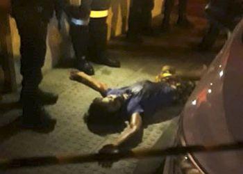 Jovem � assassinado por disparos de arma de fogo logo ap�s deixar a casa da tia