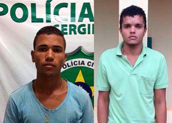 Dupla é presa na zona rural de São Domingos cumprimento a mandados de prisão preventiva
