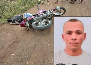 Condutor de motocicleta é encontrado morto ao lado do veículo em estrada da zona rural de Ribeirópolis