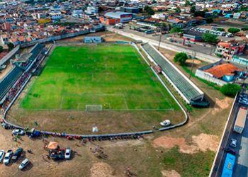 Estádio Paulo Barreto de Menezes é reformado para receber jogos do Lagarto no Campeonato Sergipano