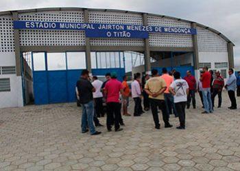 Federação interdita parte do Estádio Municipal de Frei Paulo