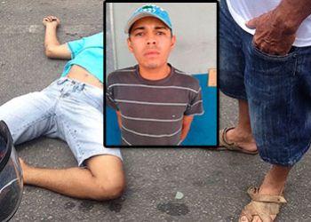 Jovem, com passagens por roubo e tráfico, é morto a tiros em Itabaiana