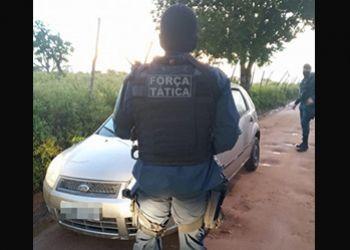 Veículo com restrição de roubo é encontrado pela PM na Zona Rural de Itabaiana