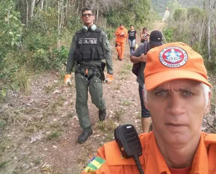Fotos: GTA / Corpo de Bombeiros de Sergipe