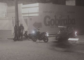 Dupla é presa em Itabaiana após ser flagrada com motocicleta tomada de assalto