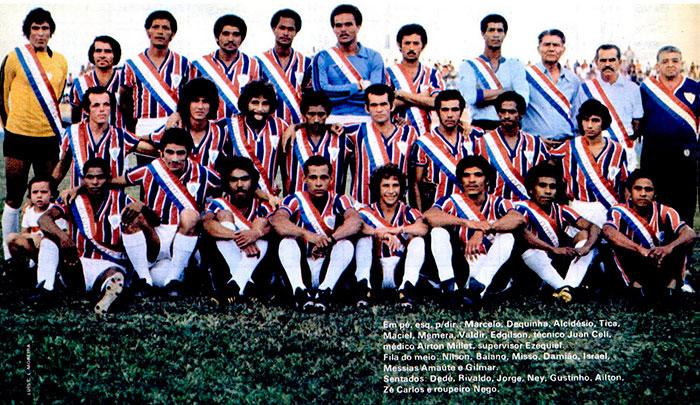 Foto: Arquivo / Campeão Estadual 1978