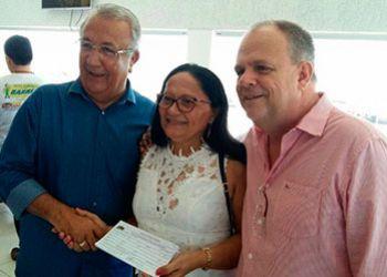 Ex-prefeita de Ribeir�polis deixa o PSB e passa a compor o grupo de Jackson Barreto