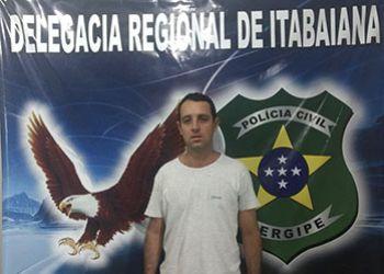 Suspeito de roubo contra transeuntes no Centro da cidade de Itabaiana é preso pela Polícia Civil