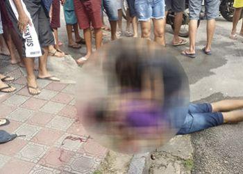 Jovem � Assassinado em Via P�blica no Centro de Itabaiana por Dupla em Motocicleta
