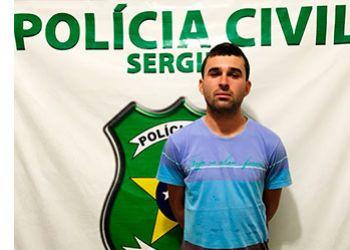 Polícia Civil cumpre mandado de prisão em desfavor de jovem suspeito de diversos roubos no Agreste sergipano