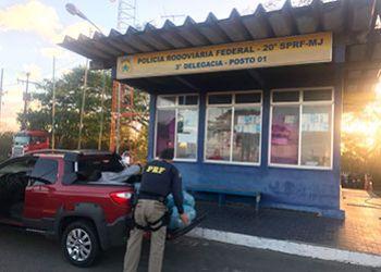 Exclusivo: Carga de maconha proveniente do Sertão sergipano é apreendida na PRF em Itabaiana