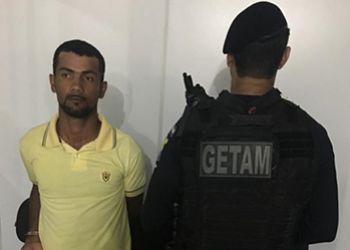 Passageiro do transporte intermunicipal é detido pela equipe do Getam em cumprimento a mandado de prisão