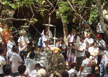 Morte de Lampi�o � lembrada com celebra��o de Missa na Grota do Angico