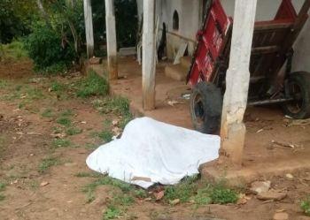 Homem é encontrado morto em frente a uma residência na Zona Rural de Itabaiana