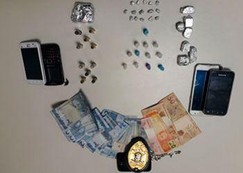 Polícia desarticula ponto de venda de drogas na periferia da cidade de Itabaiana