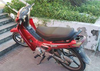 PC recupera ciclomotor furtado em Itabaiana e jovem é preso em flagrante por receptação