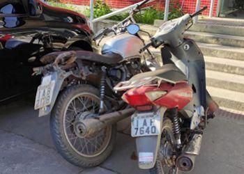 Motocicletas com restrição de roubo são recuperadas em Itabaiana pela Polícia Militar
