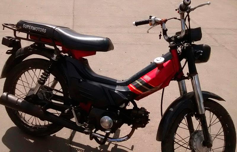 ciclomotor furtado Itabaiana Sergipe
