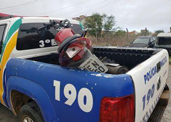 Motocicletas com restri��o de roubo s�o recuperadas em Itabaiana pelas equipes do 3.� BPM