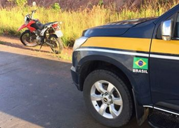 PRF apreende na BR-235 motocicleta com adulteração de sinal identificador