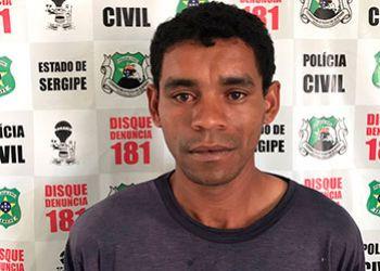 Suspeito pelo delito de homicídio na cidade de Lagarto é preso pela PC em Campo do Brito