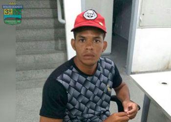 Jovem é detido pela equipe do GETAM durante rondas ostensivas na cidade de Itabaiana
