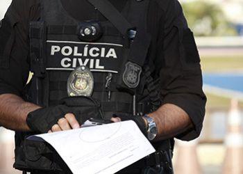 Polícia cumpre mandado de prisão preventiva e de internação contra jovem de Campo do Brito