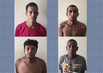 Polícia Civil e Força Nacional prendem quatro suspeitos de homicídios em Itabaiana