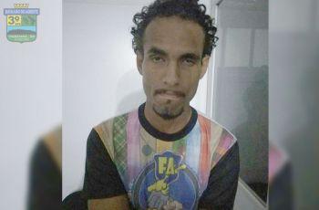 Mandado de prisão, expedido pela Justiça de Pernambuco é cumprido pela PM na cidade de Itabaiana