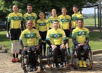 Atleta itabaianense de paraciclismo � destaque na Sele��o Brasileira