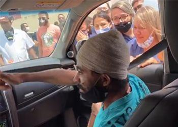 Após um mês e meio internado na capital sergipana vítima de acidente de trânsito recebe alta hospitalar