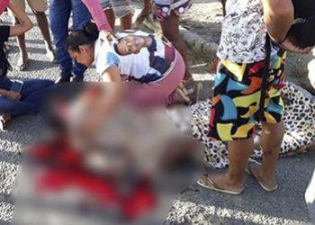 Homem � alvejado a tiros �s margens da BR-235 em Itabaiana