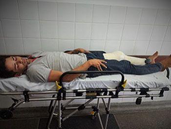 Jovem recebe voz de prisão no Hospital Regional de Itabaiana suspeito de praticar assaltos na zona rural de Ribeirópolis