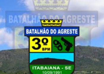 PM Recupera na Zona Rural de Itabaiana Motocicleta com Restrição de Roubo