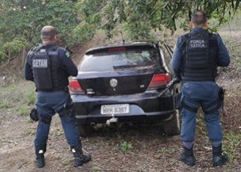 Automóvel roubado na Cidade de Frei Paulo é recuperado pela PM na Zona Rural de Itabaiana