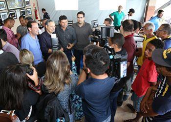 Em encontro, Valmir de Francisquinho mostra força e liderança
