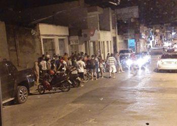 Jovem � executado a tiros em via p�blica no Centro de Itabaiana