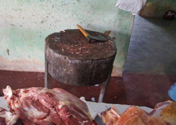 Adema apreende carne abatida ilegalmente na zona rural do município de Itabaiana