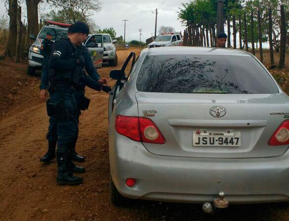 Abordagens PM zona rural Itabaiana Sergipe