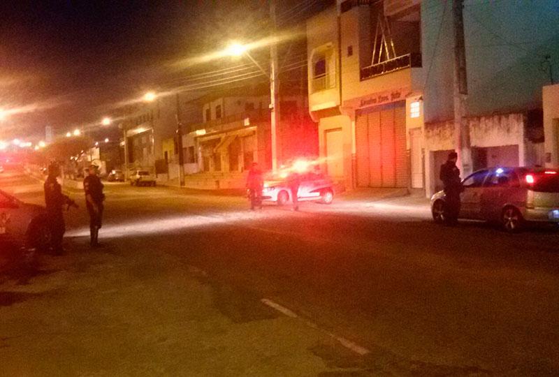 Rondas ostensivas PM Itabaiana Sergipe