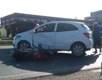 Motorista embriagado é detido pela PRF após se envolver em acidente de trânsito no perímetro urbano de Itabaiana