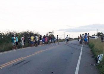 Motociclista morre em acidente de trânsito na Rota do Sertão