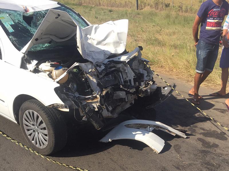 acidente BR-235 Itabaiana Sergipe